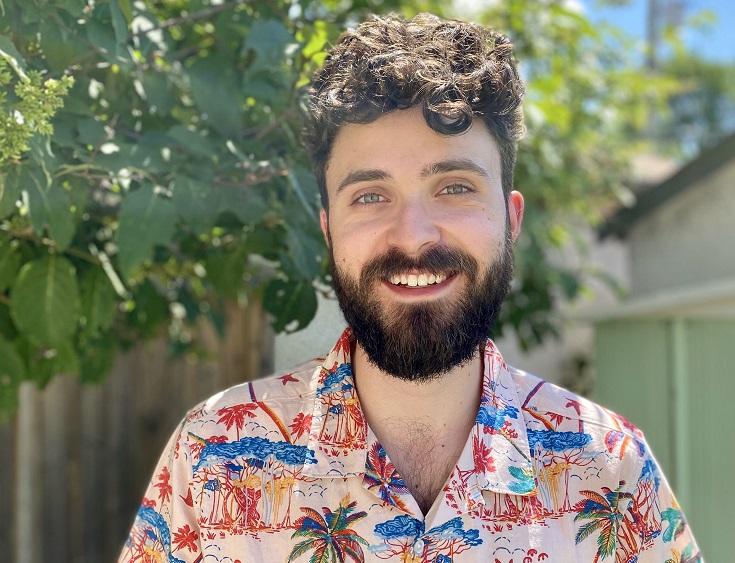head shot of Ben Roloff