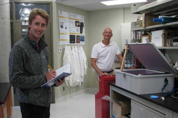 Cameron Russel, Dr. Andrew Goertzen