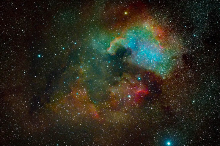 photo of stars in the galaxy, photo credit_GALAXY_FRANÇOIS GUINAUDEAU,