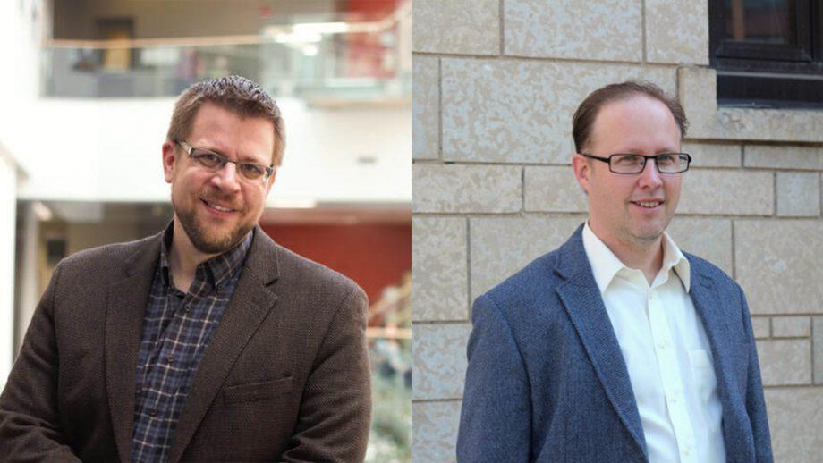 Dr. Chris Wiebe and Dr. Blair Jamieson.