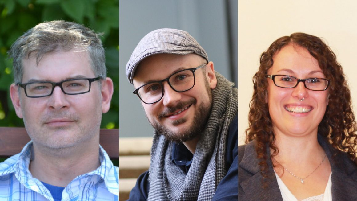 Dr. Caleb Hasler, Dr. William 'Rory' Dickson, Dr. Chantal Fiola