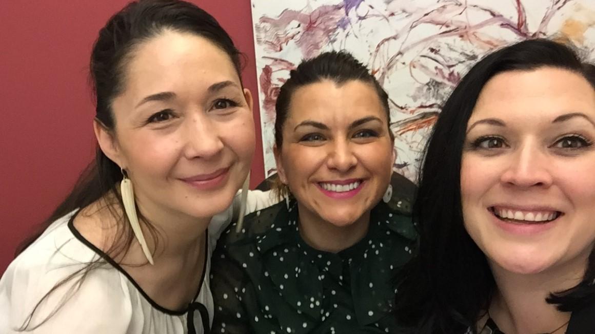Reneltta Arluk, Julie Nagam, and Heather Igloliorte
